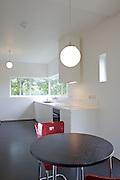 The kitchen at Warren House, Wayne McGregor's Dartington Estate home in Devon<br /> Vanessa Berberian for The Wall Street Journal