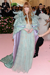 The 2019 Met Gala Celebrating Camp: Notes on Fashion - Arrivals. 06 May 2019 Pictured: Florence Welch. Photo credit: MEGA TheMegaAgency.com +1 888 505 6342