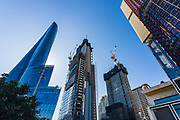 Sydney, Australia. Thursday 22nd July 2021. General views of Barangaroo and empty street scenes.New restrictions imposed have stopped all construction work in Sydney until at least the 30th July due to the highly infectious Delta Variant of Covid-19. Credit: Paul Lovelace/Alamy Live News
