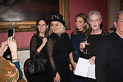 LUCY BERESFORD, KIM WILDE, NANCY SLADEK, SARAH CROWDEN , Literary Review Christmas party and Bad SEx Awards. In and Out club. St. James Sq. London. 3 December 2018