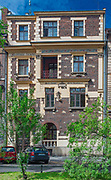 Ulica Retoryka 7 w Krakowie - kamienica Festina lente, Polska<br /> Retoryka 7 Street in Cracow - tenement house Festina lente, Poland