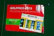 21-09-2015: Golf Resort Karlovy Vary in Karlovy Vary (Karlsbad), Tsjechië.<br /> Foto: Golfpass 2015