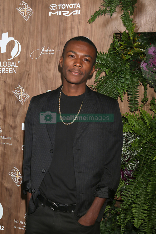 February 20, 2019 - Beverly Hills, CA, USA - LOS ANGELES - FEB 20:  Davon Lavor at the Global Green 2019 Pre-Oscar Gala at the Four Seasons Hotel on February 20, 2019 in Beverly Hills, CA (Credit Image: © Kay Blake/ZUMA Wire)