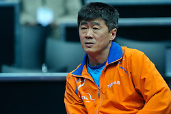 09-05-2011 TAFELTENNIS: WORLD TABLE TENNIS CHAMPIONSHIPS: ROTTERDAM<br /> Coach Chen Chibin NED<br /> ©2011-FotoHoogendoorn.nl