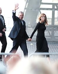 British Soap Awards, Saturday 3rd June 2017<br /> <br /> Stars arrive on the red carpet for the British Soap Awards 2017<br /> <br /> John Middleton and Charlotte Bellamy from Emmerdale<br /> <br /> (c) Alex Todd | Edinburgh Elite media