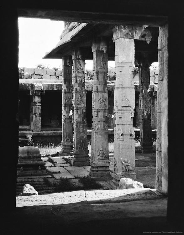 View from Hazari Rama Temple, Hampi, 1929