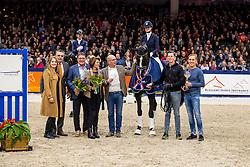 Van Der Putten Marieke, NED, Jameson RS2<br /> KWPN Hengstenkeuring - 's Hertogenbosch 2019<br /> © Hippo Foto - Dirk Caremans<br /> 01/02/2019