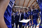 Pozzecco Gianmarco, <br /> Happy Casa Brindisi - Banco di Sardegna Sassari<br /> Legabasket SerieA  2019-2020<br /> Brindisi 08/12/2019<br /> Foto: Ciamillo-Castoria / Michele Longo