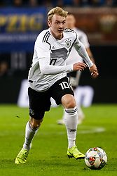 November 16, 2018 - Leipzig, Germany - Julian Brandt of Germany in action during the international friendly match between Germany and Russia on November 15, 2018 at Red Bull Arena in Leipzig, Germany. (Credit Image: © Mike Kireev/NurPhoto via ZUMA Press)
