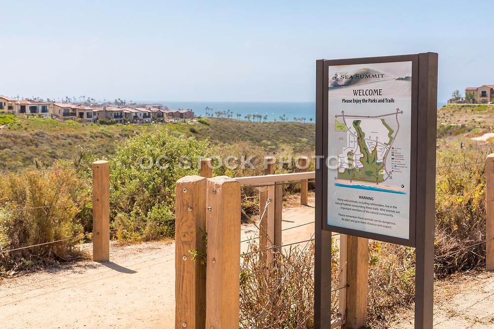 Sea Summit Walking Trail in San Clemente