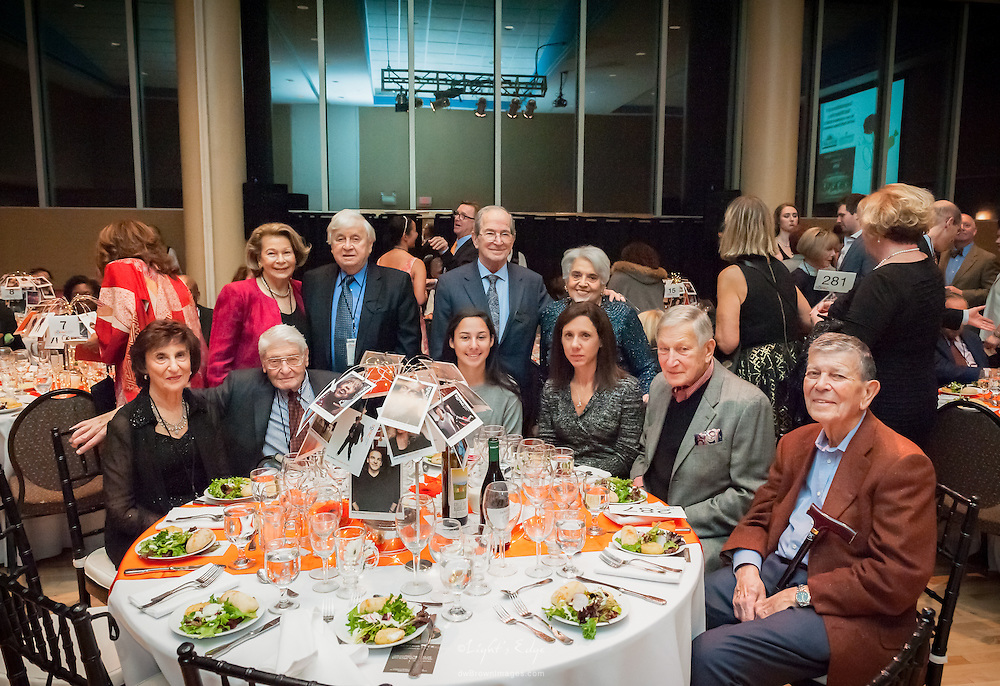Table shot of some patrons at the SOPAC 2016 Gala.
