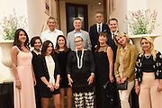 Dinner to celebrate the 10th Anniversary of Contemporary Istanbul Hosted at the Residence of Freda & Izak Uziyel, London. 23 June 2015
