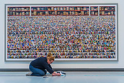 Amazon - Andreas Gursky a new exhibiition. The Hayward Gallery reopens on the Southbank after a major refurbishment.
