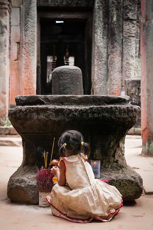 Preah Khan temple, Angkor temple complex, Siem Reap, Cambodia