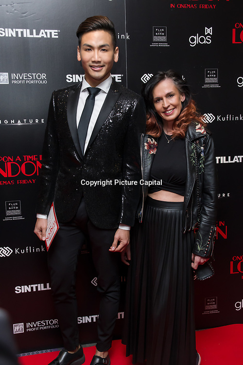 Dr Vincent Wong of channel 5 Arrivers at Once Upon a Time in London - London premiere of the rise and fall of a nationwide criminal empire that paved the way for notorious London gangsters the Kray Twins and the Richardsons at The Troxy 490 Commercial Road, on 15 April 2019, London, UK.