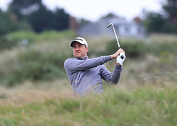 England's Ian Poulter chips from the rough during day two of The Open Championship 2017 at Royal Birkdale Golf Club, Southport.