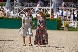 Knokke Hippique, Van Guyse Ellen, Puttevils Mireille <br /> Grand Prix Rolex powered by Audi <br /> CSI5* Knokke 2019<br /> © Hippo Foto - Dirk Caremans<br /> 30/06/2019