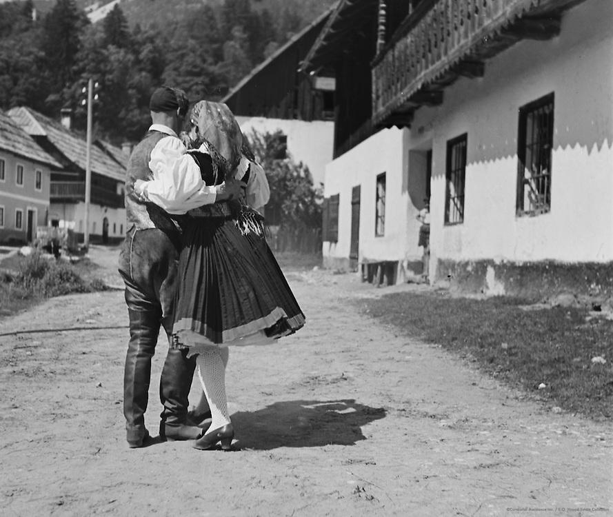 Dancing, Nötsch in the Gailtal, Austria, 1938