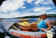 Kayaking, Vavau, Tonga