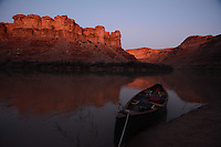 Canoe through Stillwater Canyon on the Green River in Canyonlands National Park