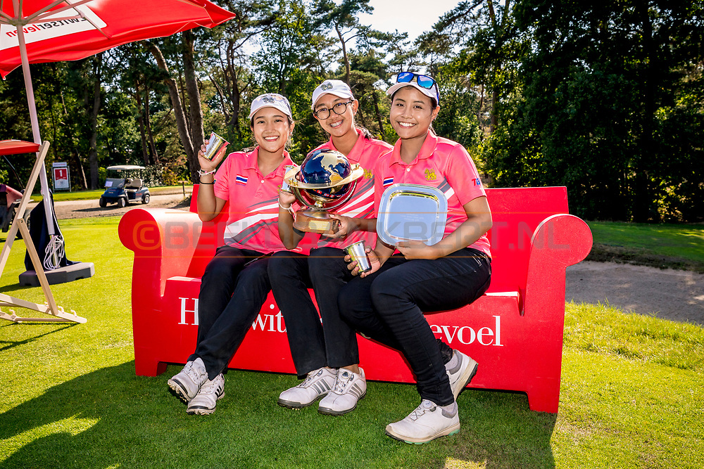 21-07-2018 Pictures of the final day of the Zwitserleven Dutch Junior Open at the Toxandria Golf Club in The Netherlands.  Team Thailand
