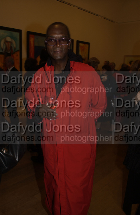 Dennis Morris, Royal Academicians in China: 2003-2005. Royal academy. 11  January 2006. ONE TIME USE ONLY - DO NOT ARCHIVE  © Copyright Photograph by Dafydd Jones 66 Stockwell Park Rd. London SW9 0DA Tel 020 7733 0108 www.dafjones.com
