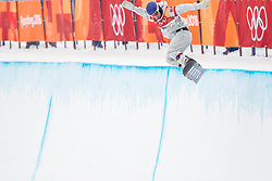 PYEONGCHANG-GUN, SOUTH KOREA - FEBRUARY 14: Chase Josey of the United States competes during the Men's Halfpipe Final at Phoenix Snow Park on February 14, 2018 in Pyeongchang-gun, South Korea.  Photo by Ronald Hoogendoorn / Sportida