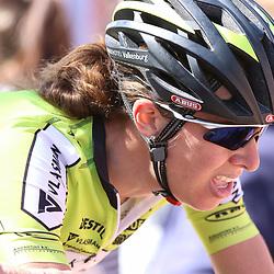 20-04-2016: Wielrennen: Waalse Pijl vrouwen: Huy    <br />HUY (BEL) cycling    <br />The Fleche Wallomne is the last springrace in the Womens Worldtour. Janneke Ensing 19e op de Muur