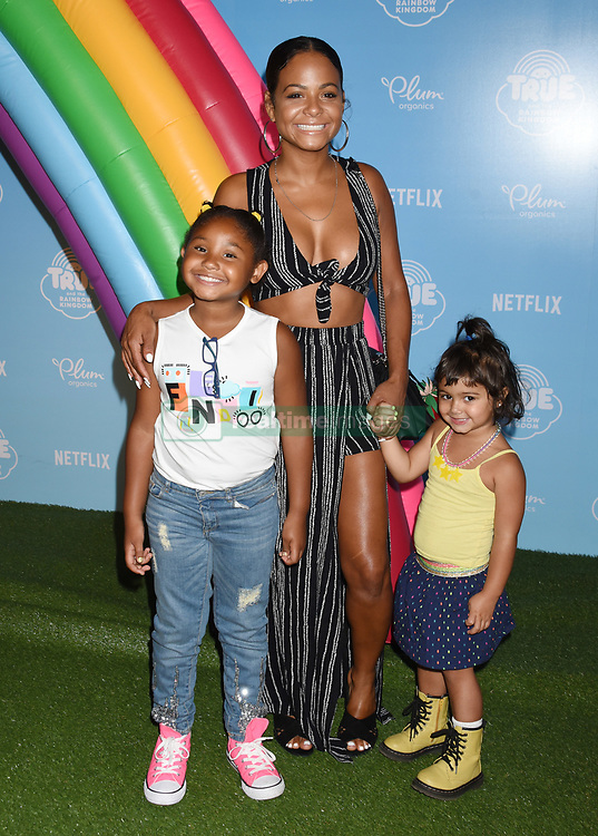 Netflix Original Series 'True And The Rainbow Kingdom' Los Angeles Sneek Peek held at the Pacific Theatres at The Grove. 10 Aug 2017 Pictured: Christina Milian. Photo credit: Janet Gough / AFF-USA.COM / MEGA TheMegaAgency.com +1 888 505 6342