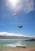 Kiteboarding, Kite Beach, Kanaha Beach, Maui, hawaii