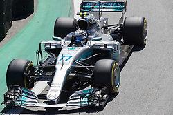 November 12, 2017 - Sao Paulo, Sao Paulo, Brazil - 77 VALTTERI BOTTAS, of Mercedes AMG Petronas, drives during the Formula One Grand Prix of Brazil at Interlagos circuit, in Sao Paulo, Brazil on November 12, 2017. (Credit Image: © Paulo Lopes via ZUMA Wire)