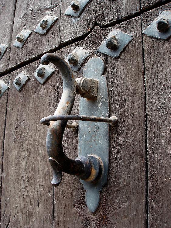 Door knocker, Granada, Spain