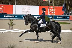 Hogberg Jeanna, SWE, Devonport<br /> CDI 3* Opglabeek<br /> © Hippo Foto - Dirk Caremans<br />  24/04/2021