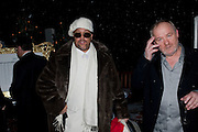 PATRICK ALAN; ( THE DRIFTERS) VINCE POWER, A Winter in New York. The Berkeley Square Ball. Portman sq. London. 3 December 2009
