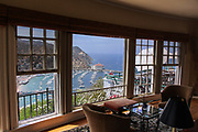 View of Avalon Bay From Mt. Ada Bed and Breakfast