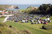 Tourist pressure at the honeypot site of  Lulworth Cove, Dorset, England