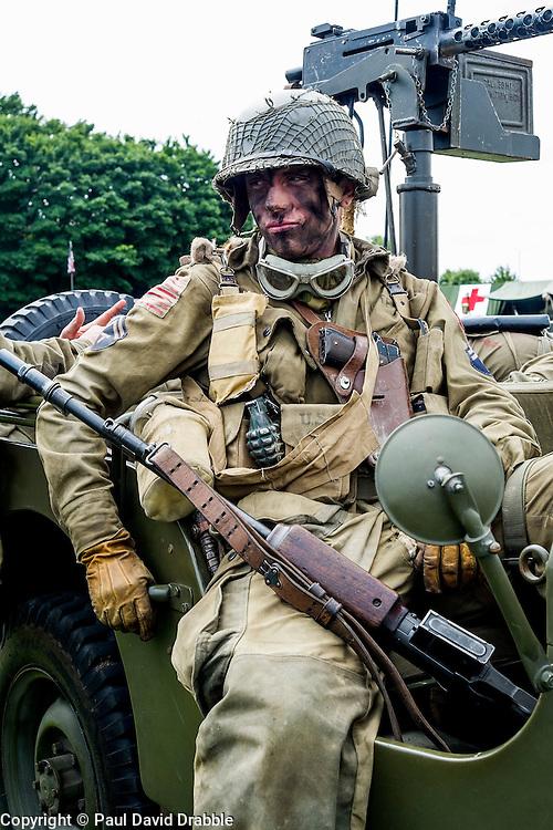 Cleethorpes 2015 82nd Airborne<br /> <br /> August 2015<br />  Image © Paul David Drabble <br />  www.pauldaviddrabble.co.uk