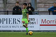 Seungwoo Yang during the Pre-Season Friendly match between Cirencester Academy and Forest Green Rovers at Cotswold Academy, Cirencester, United Kingdom on 30 July 2019.