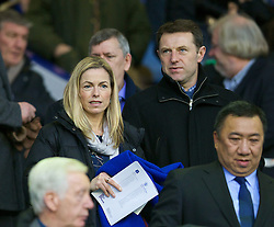 04.01.2014, Goodison Park, Liverpool, ENG, FA Cup, FC Everton vs Queens Park Rangers, 3. Runde, im Bild Gerry and Kate McCann, parents of missing child Madeleine // during the English FA Cup 3rd round match between Everton FC and Queens Park Rangers at the Goodison Park in Liverpool, Great Britain on 2014/01/04. EXPA Pictures © 2014, PhotoCredit: EXPA/ Propagandaphoto/ David Rawcliffe<br /> <br /> *****ATTENTION - OUT of ENG, GBR*****