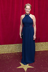 © Licensed to London News Pictures . 16/05/2015 .  The Palace Hotel , Manchester , UK . Sally Dynevor . The red carpet at the 2015 British Soap Awards , The Palace Hotel , Oxford Road , Manchester . Photo credit : Joel Goodman/LNP