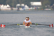 Bled, SLOVENIA. CAN M4-, 2011 FISA World Rowing Championships, Lake Bled. Wednesday  31/08/2011   [Mandatory Credit; Intersport Images]