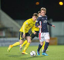 Falkirk's Craig Sibbald.<br /> Falkirk 0 v 0  Livingston, Scottish Championship game played 21/10/2014 at The Falkirk Stadium.