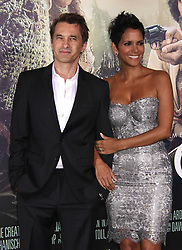 Oct. 24, 2012 - Hollywood, California, U.S. - Olivier Martinez & Halle Berry arrives for the premiere of the film 'Cloud Atlas' at the Chinese theater. (Credit Image: © Lisa O'Connor/ZUMAPRESS.com)