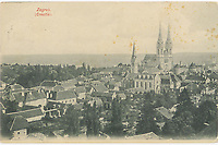 Zagreb.  <br /> <br /> ImpresumZagreb : Papirnica A. Brusina, [1903].<br /> Materijalni opis1 razglednica : tisak ; 9 x 13,9 cm.<br /> NakladnikTiskara A. Brusina<br /> Mjesto izdavanjaZagreb<br /> Vrstavizualna građa • razglednice<br /> ZbirkaZbirka razglednica • Grafička zbirka NSK<br /> Formatimage/jpeg<br /> SignaturaRZG-PAN-18<br /> Obuhvat(vremenski)20. stoljeće<br /> NapomenaRazglednica je putovala 1903.<br /> PravaJavno dobro<br /> Identifikatori000922270<br /> NBN.HRNBN: urn:nbn:hr:238:151467 <br /> <br /> Izvor: Digitalne zbirke Nacionalne i sveučilišne knjižnice u Zagrebu