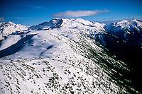 Aerial view near Whistler, British Columbia, Canada