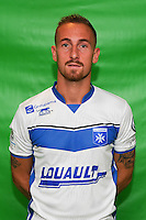 Gaetan Courtet of Auxerre during Auxerre squad photo call for the 2016-2017 Ligue 2 season on September, 7 2016 in Auxerre, France ( Photo by Andre Ferreira / Icon Sport )