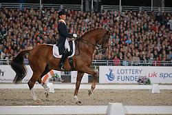 Cornelissen Adelinde (NED) - Parzival<br /> European Championship Dressage Windsor 2009<br /> © Hippo Foto - Dirk Caremans