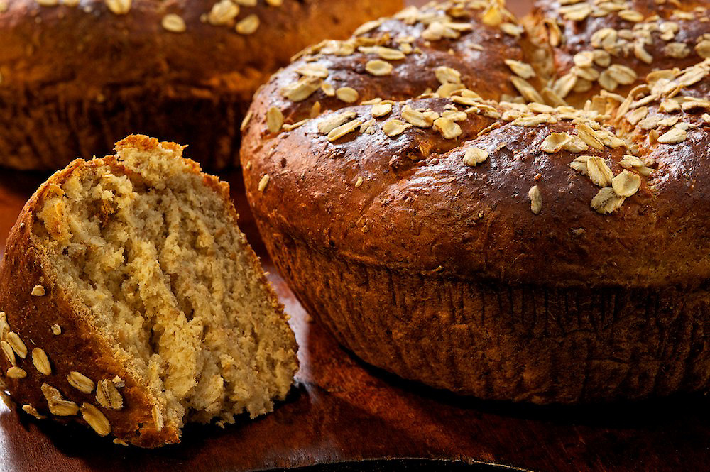 Artisan multi-grain maple bread made with Crown Maple Syrup
