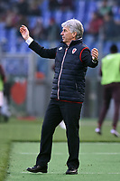 Gian Piero Gasperini, allenatore del Genoa.<br /> Roma 20-12-2015 Stadio Olimpico, Football Calcio 2015/2016 Serie A.AS Roma - Genoa.  Foto Antonietta Baldassarre / Insidefoto