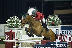 Alvarez Manuel, (MEX), Spirit Magic<br /> Longines FEI World Cup™ Jumping Final I<br /> Las Vegas 2015<br />  © Hippo Foto - Dirk Caremans<br /> 17/04/15